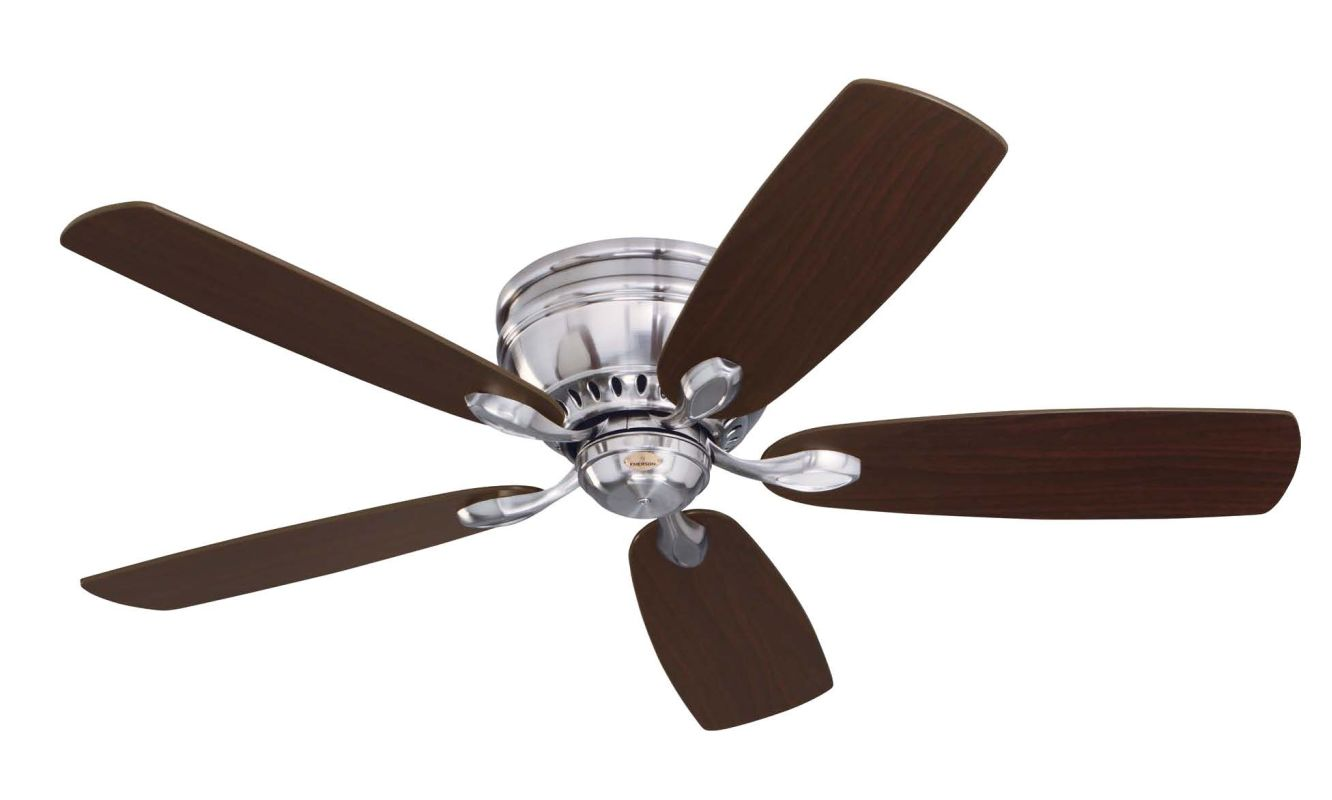 Ceiling Fan Blades : Emerson cf bs brushed steel prima snugger quot blade