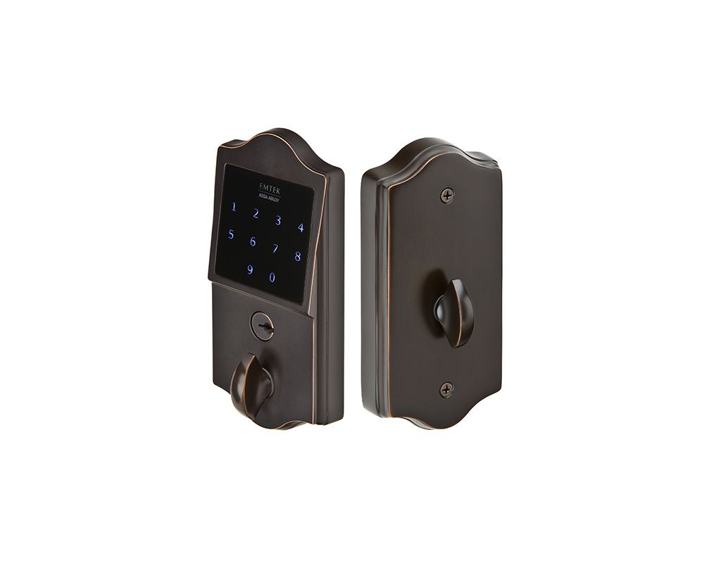 Emtek E3002us10b Oil Rubbed Bronze Emtouch Electronic