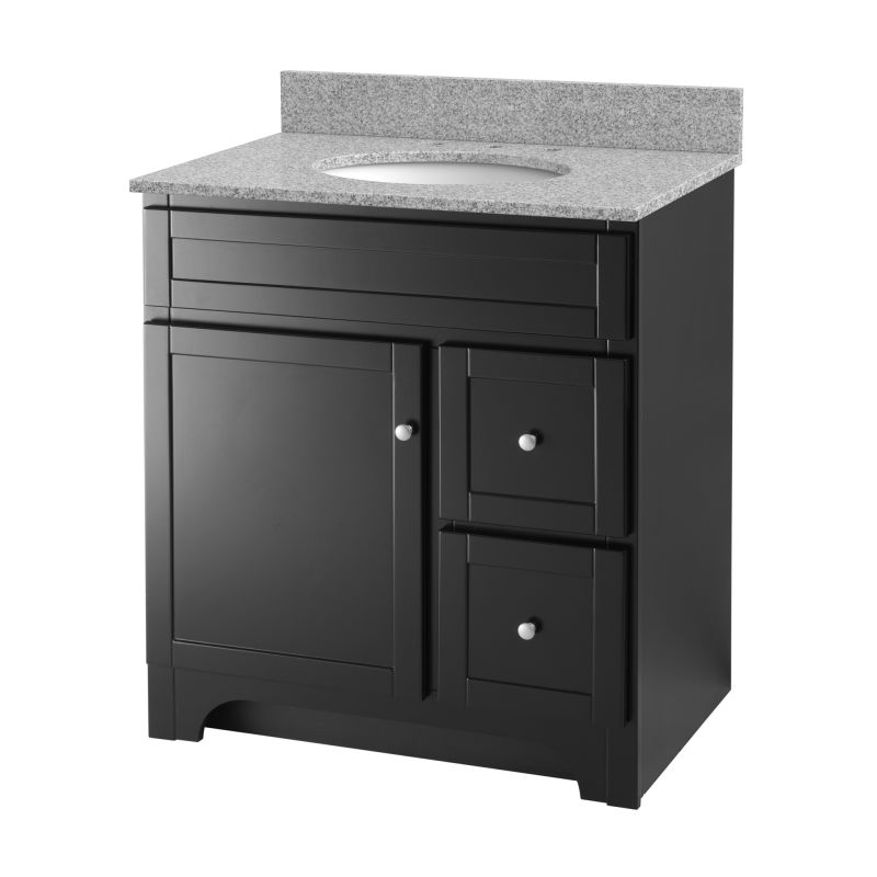 Foremost Wrea3021d Espresso Worthington 30 Vanity Cabinet Only