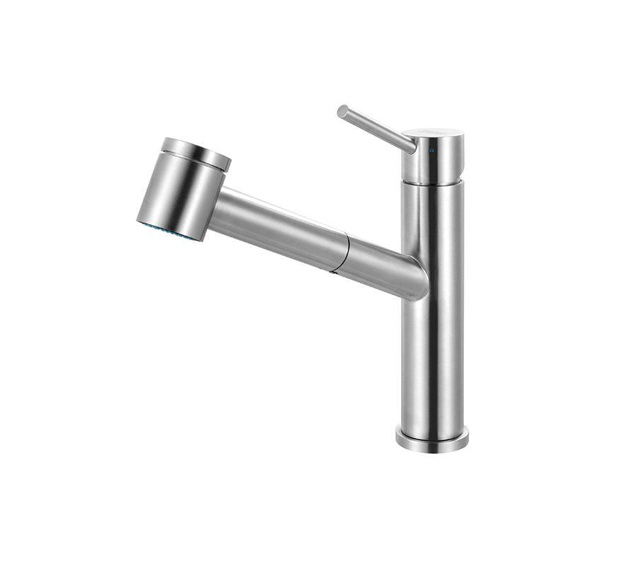 Franke Faucets Warranty : Franke FFPS3450 Steel Steel High-Arc Pullout Spray Bar Faucet ...