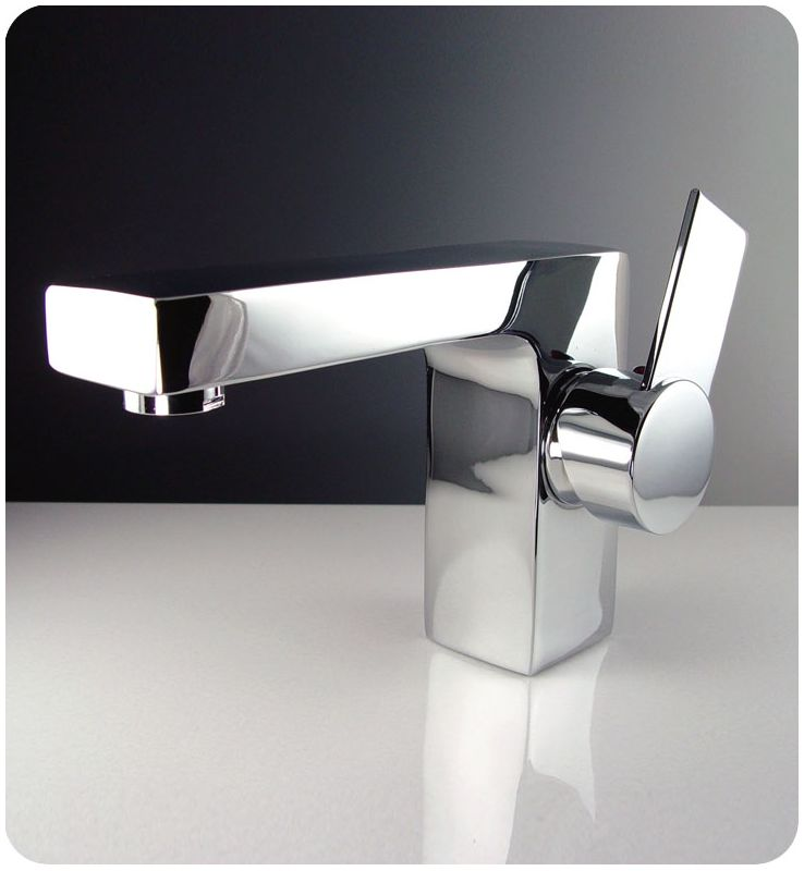 Fresca Fft1053ch Chrome Isarus Single Handle Lavatory