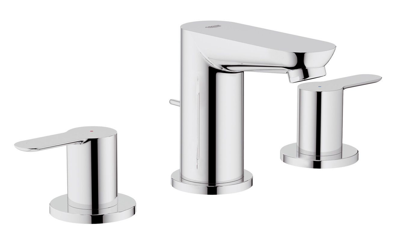 Closeout Bathroom Faucets faucet | 20374000 in starlight chromegrohe