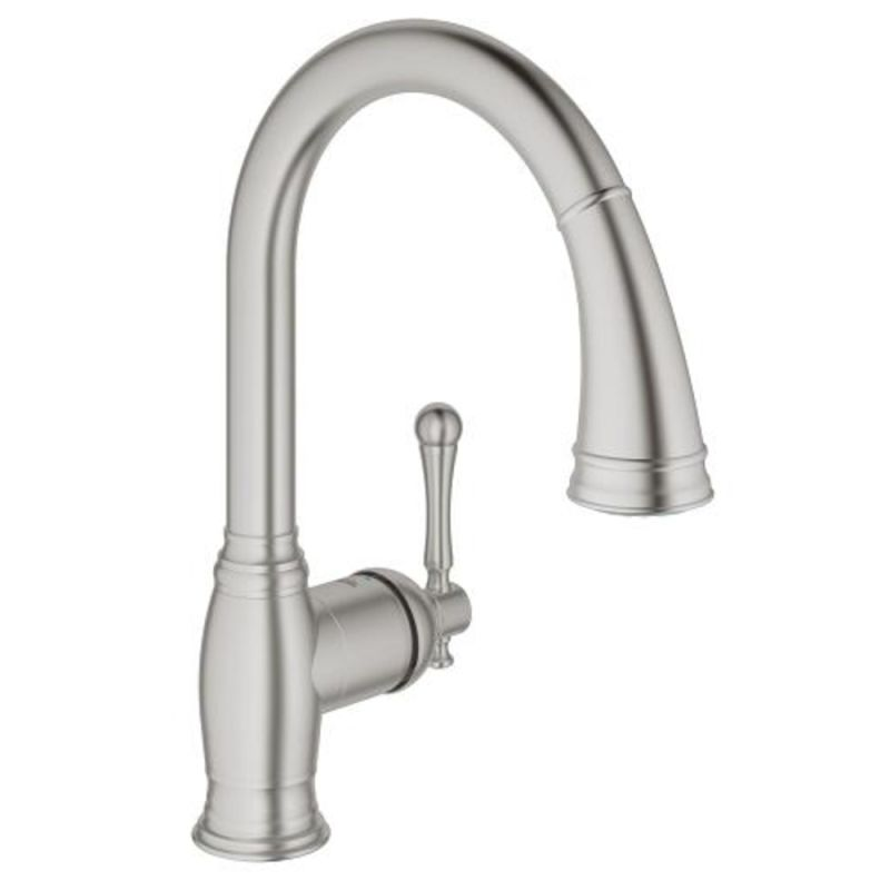 faucet 33870dc2 in supersteel by grohe