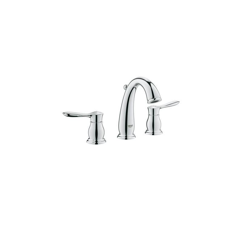 Grohe 20390000 Starlight Chrome Parkfield Widespread