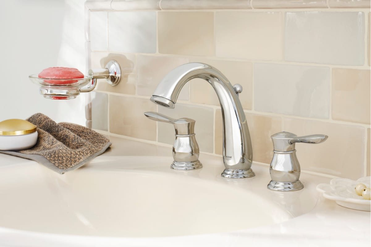 Grohe Kitchen Faucet Replacement Parts Faucet Com 20390en0 In Brushed Nickel By Grohe