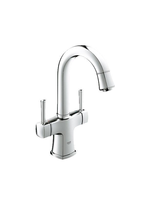 Grohe 21108000 Starlight Chrome Grandera Bathroom Faucet