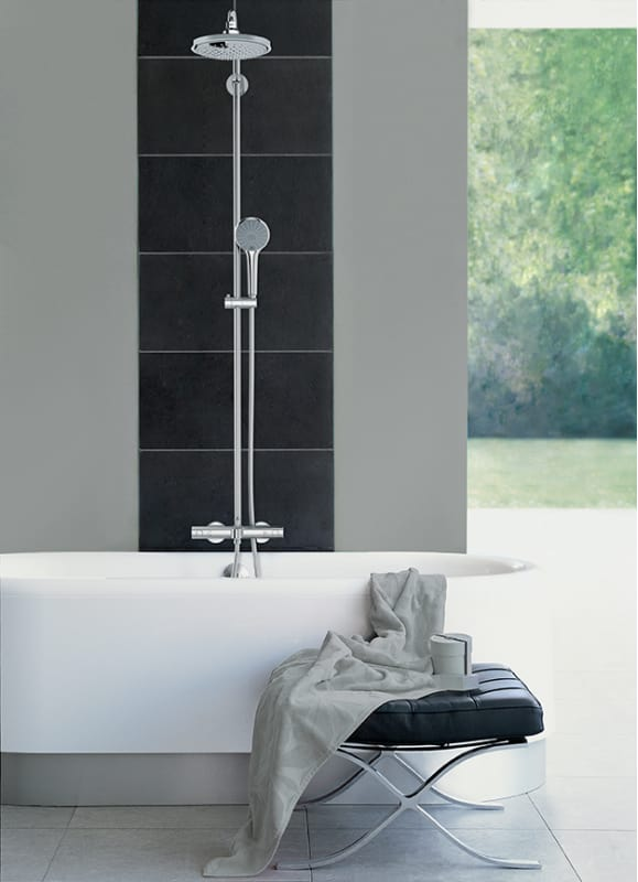 Faucet Com 27492000 In Starlight Chrome By Grohe