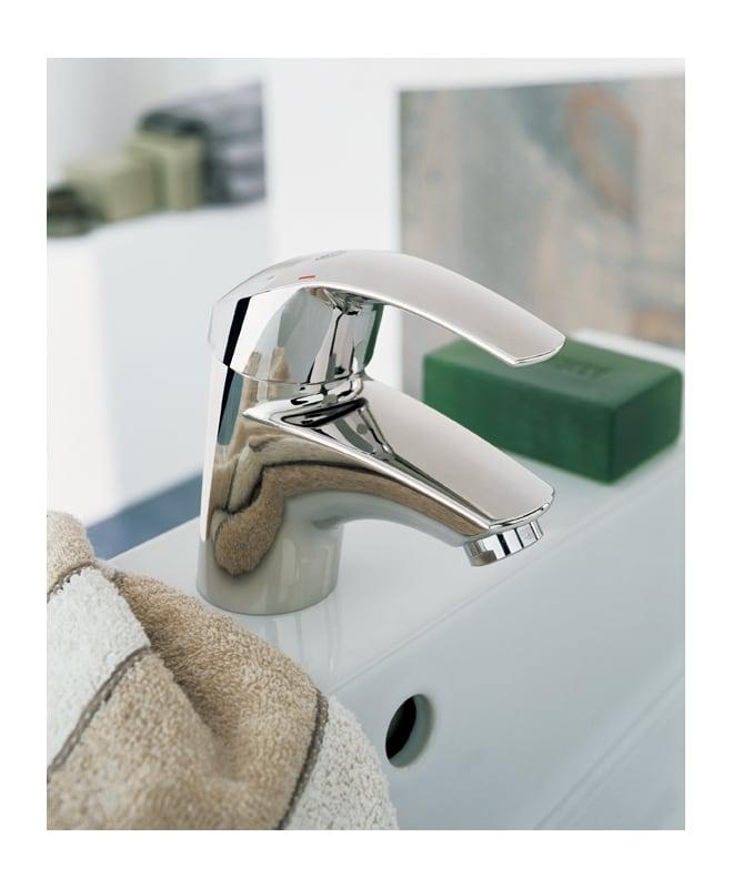 grohe europlus single hole bathroom sink faucet