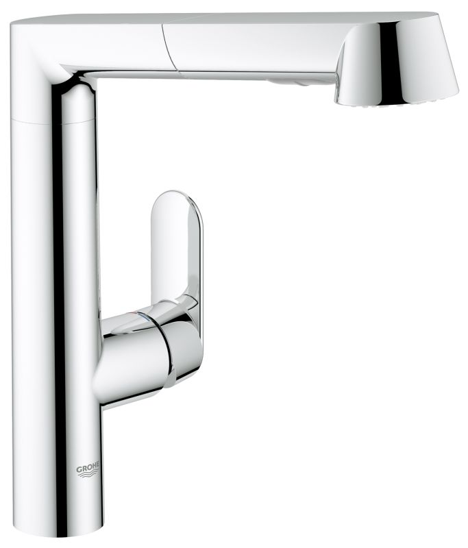 Kitchen Faucet With Pull Out Sprayer With Off Switch