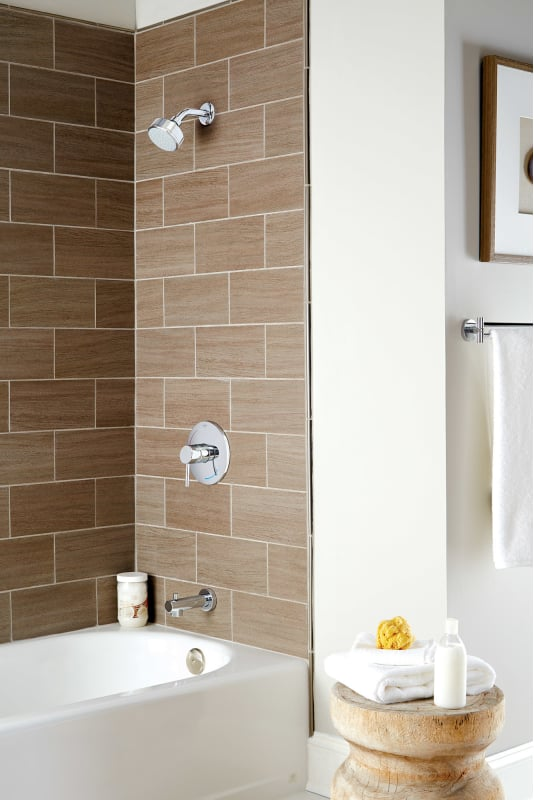 grohe35 073grohe shower system bath tub view