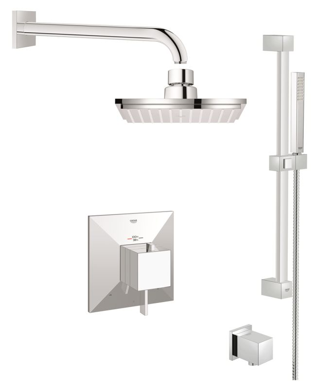 Grohe Allure Bathroom Faucet: GSS-Allure-DTH-03-000 In Starlight Chrome By