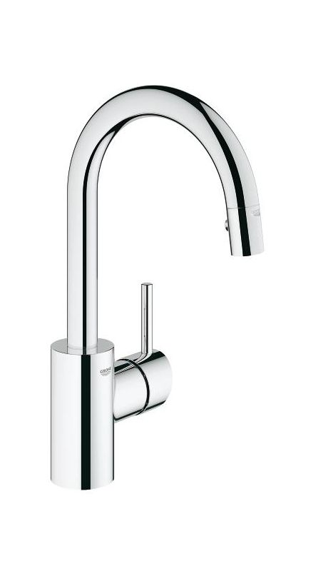 grohe 31479000 chrome concetto pull down spray kitchen