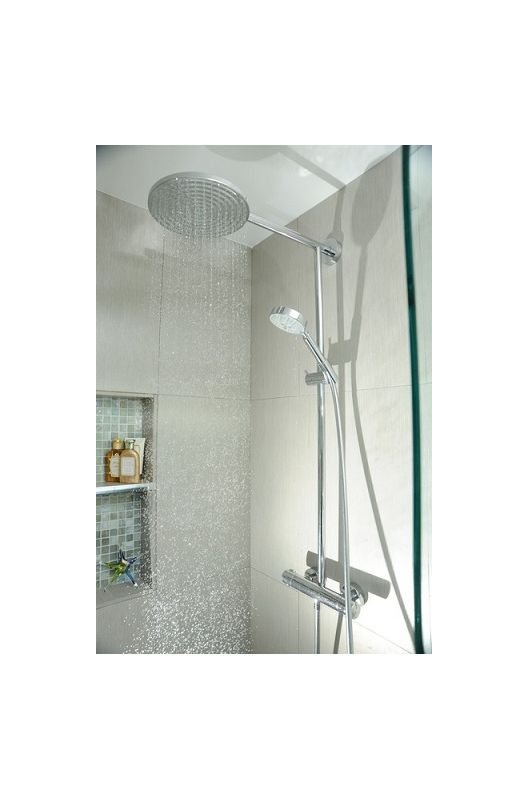 hansgrohe rain shower head. Alternate View  Faucet com 27160821 in Brushed Nickel by Hansgrohe