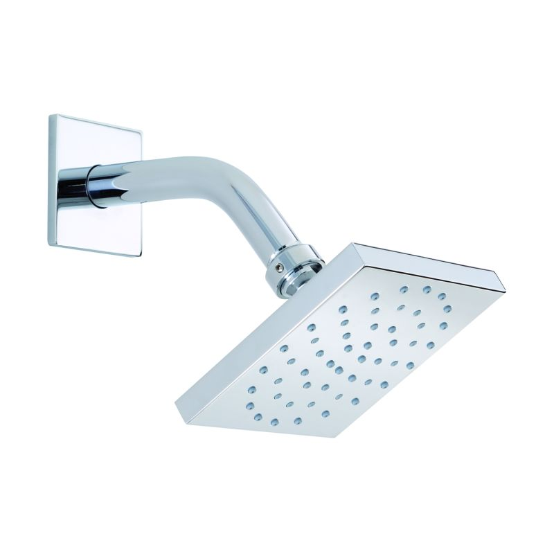 brushed nickel square rain shower head. Click to view larger image Faucet com  27403821 in Brushed Nickel by Hansgrohe