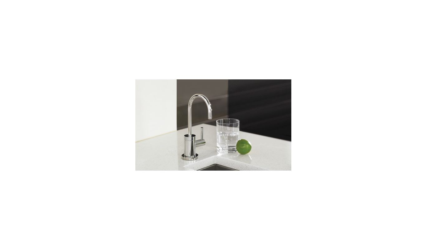 Faucetcom  In Chrome By Hansgrohe - Water filter dispenser faucet