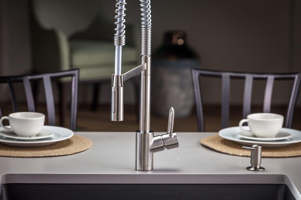 Faucet Com 04700805 In Steel Optik By Hansgrohe