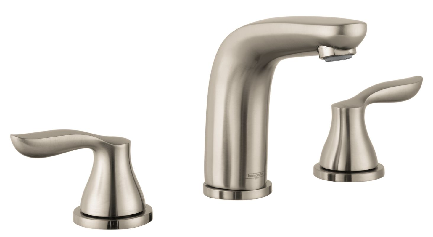 Bathroom Faucets: 04169820 In Brushed Nickel By Hansgrohe