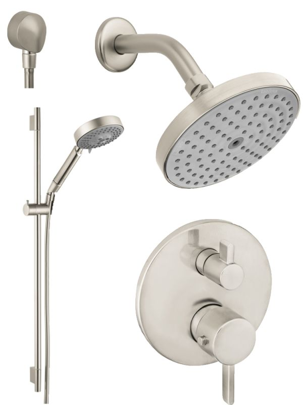 Faucet Com Hg T201bn In Brushed Nickel By Hansgrohe