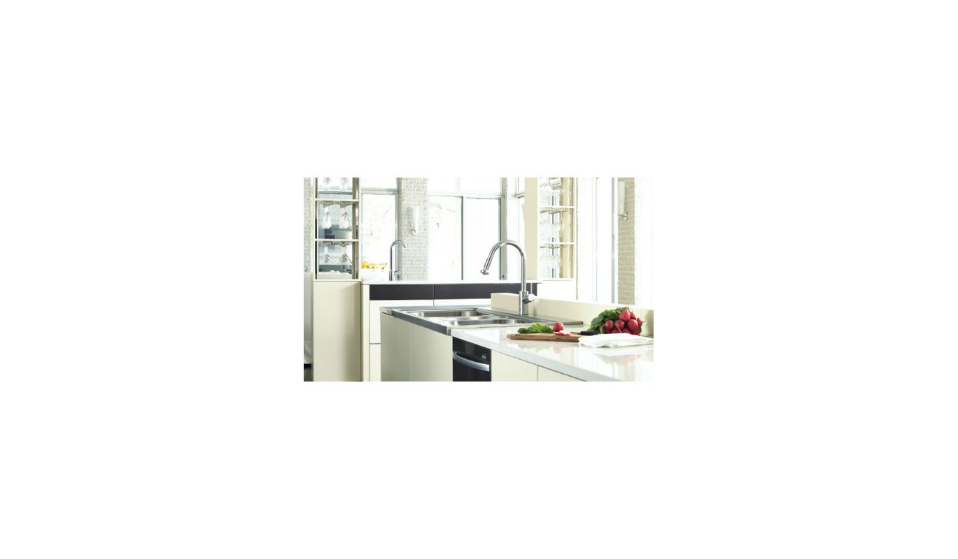 Hansgrohe Talis Kitchen Faucet Faucetcom 14877001 In Chrome By Hansgrohe