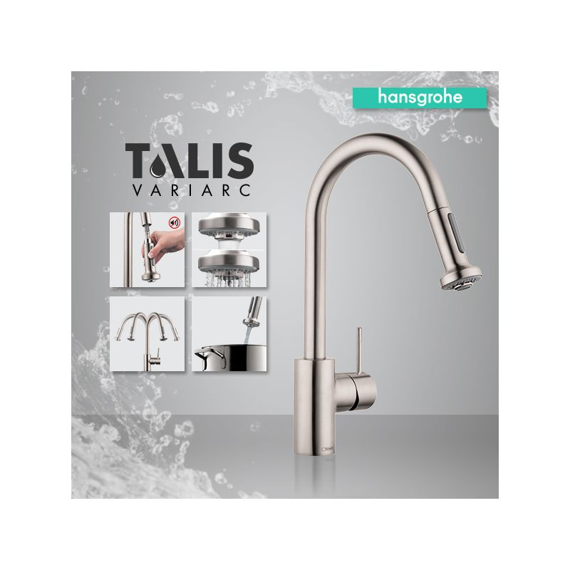 Faucet.com | 06801001 in Chrome by Hansgrohe