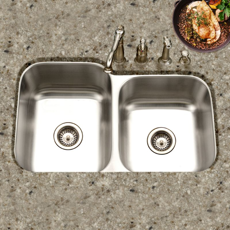 Faucet Com Mec 3220sr 1 In Stainless Steel By Houzer