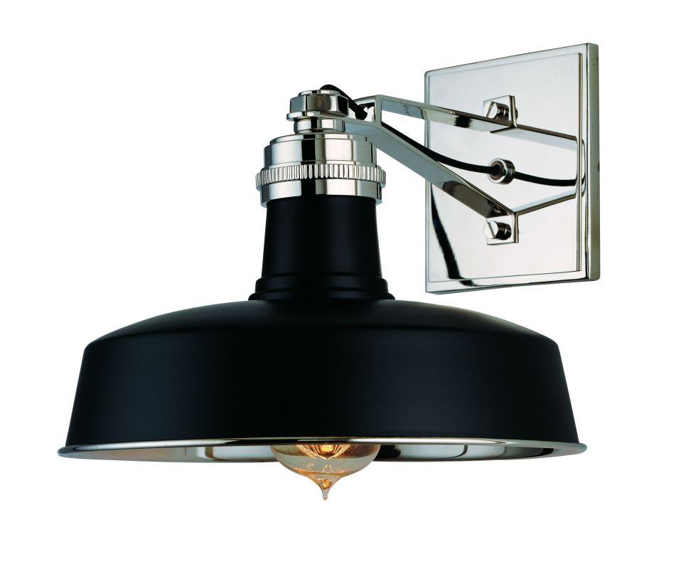 Hudson Valley Lighting Bulbs: Hudson Valley Lighting 8601-BPN Black / Polished Nickel