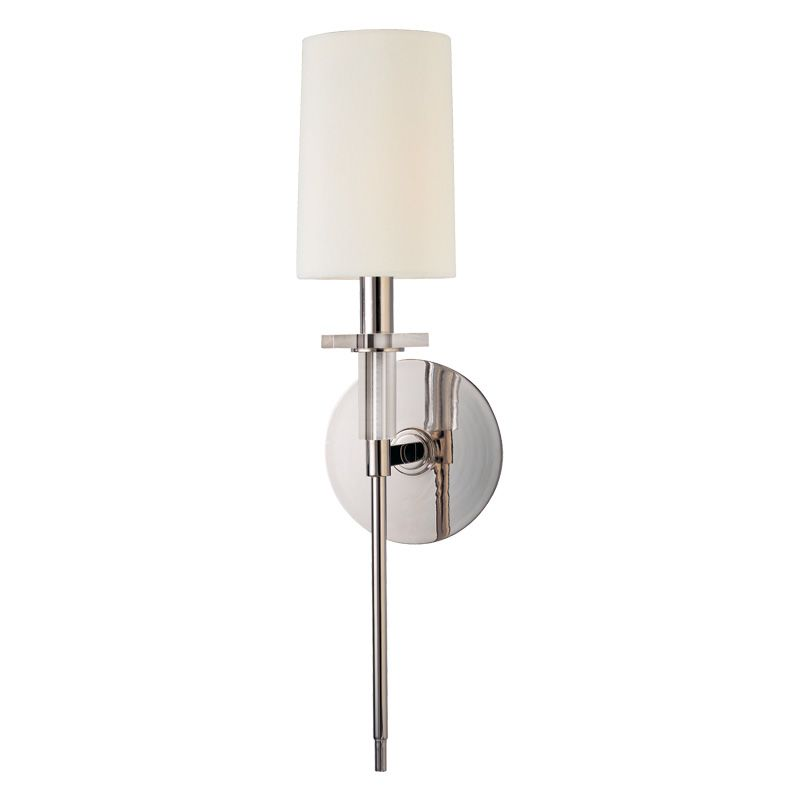 Where Is Hudson Valley Lighting Made: Hudson Valley Lighting 8511-PN Polished Nickel Amherst 1