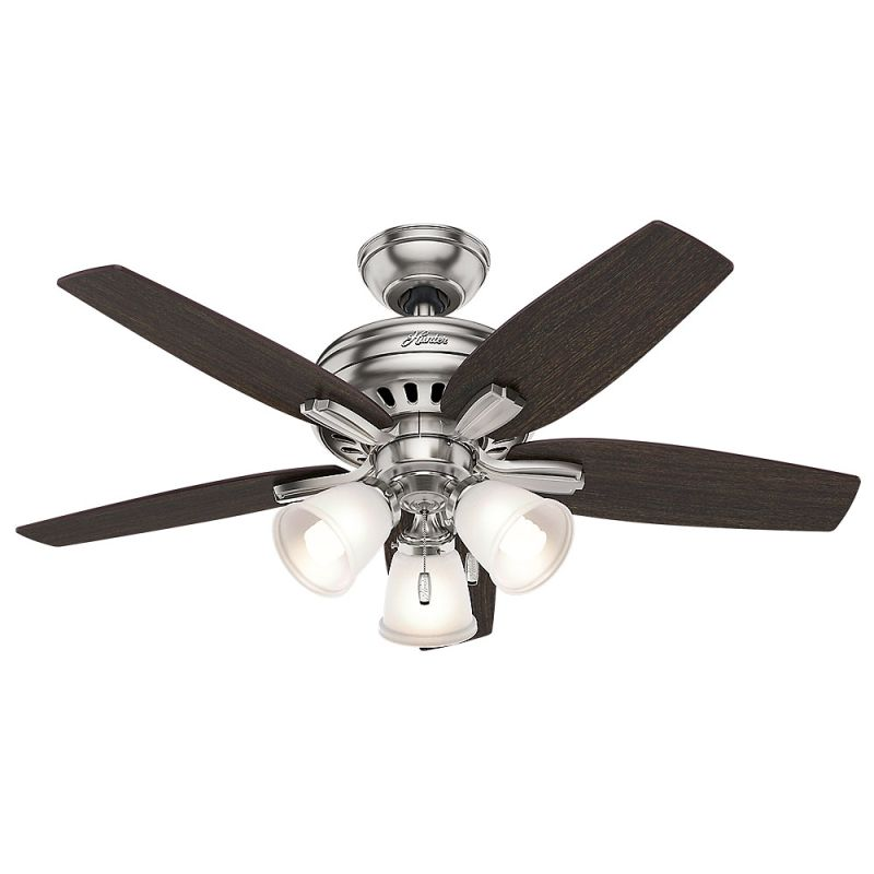 Hunter 51085 Brushed Nickel 42 Indoor Ceiling Fan