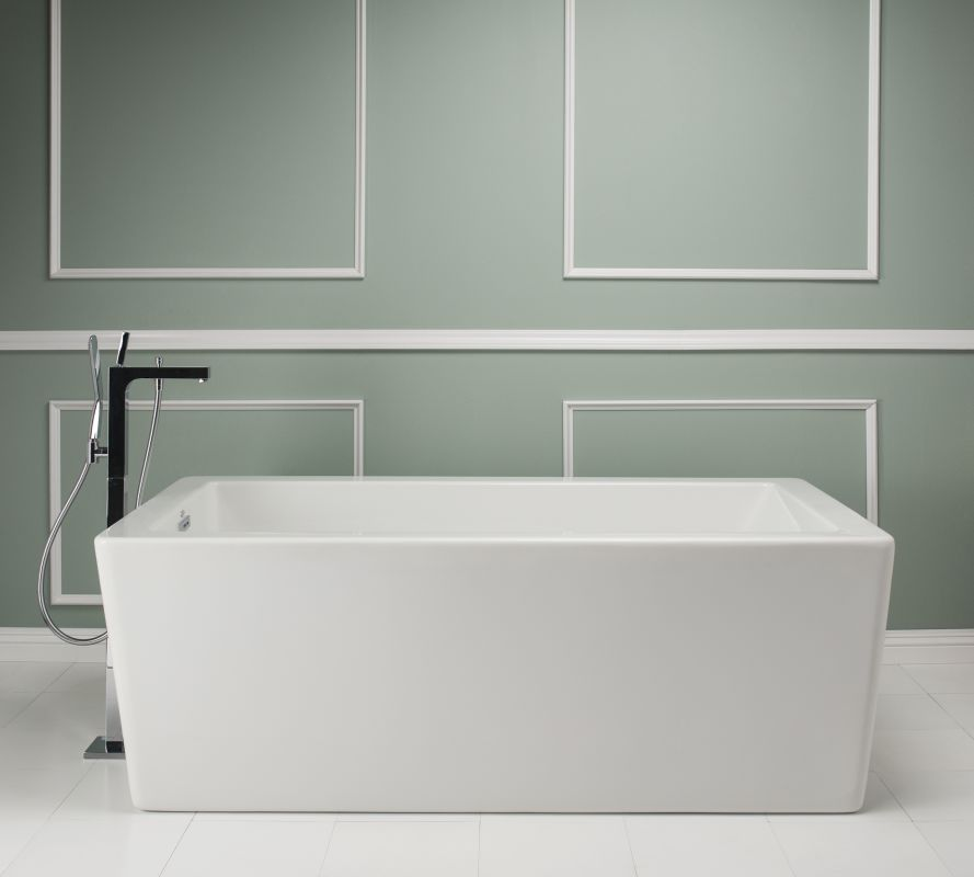 free standing tub with jets. Alternate  Faucet com BIF6636BUXXXXW in White by Jacuzzi