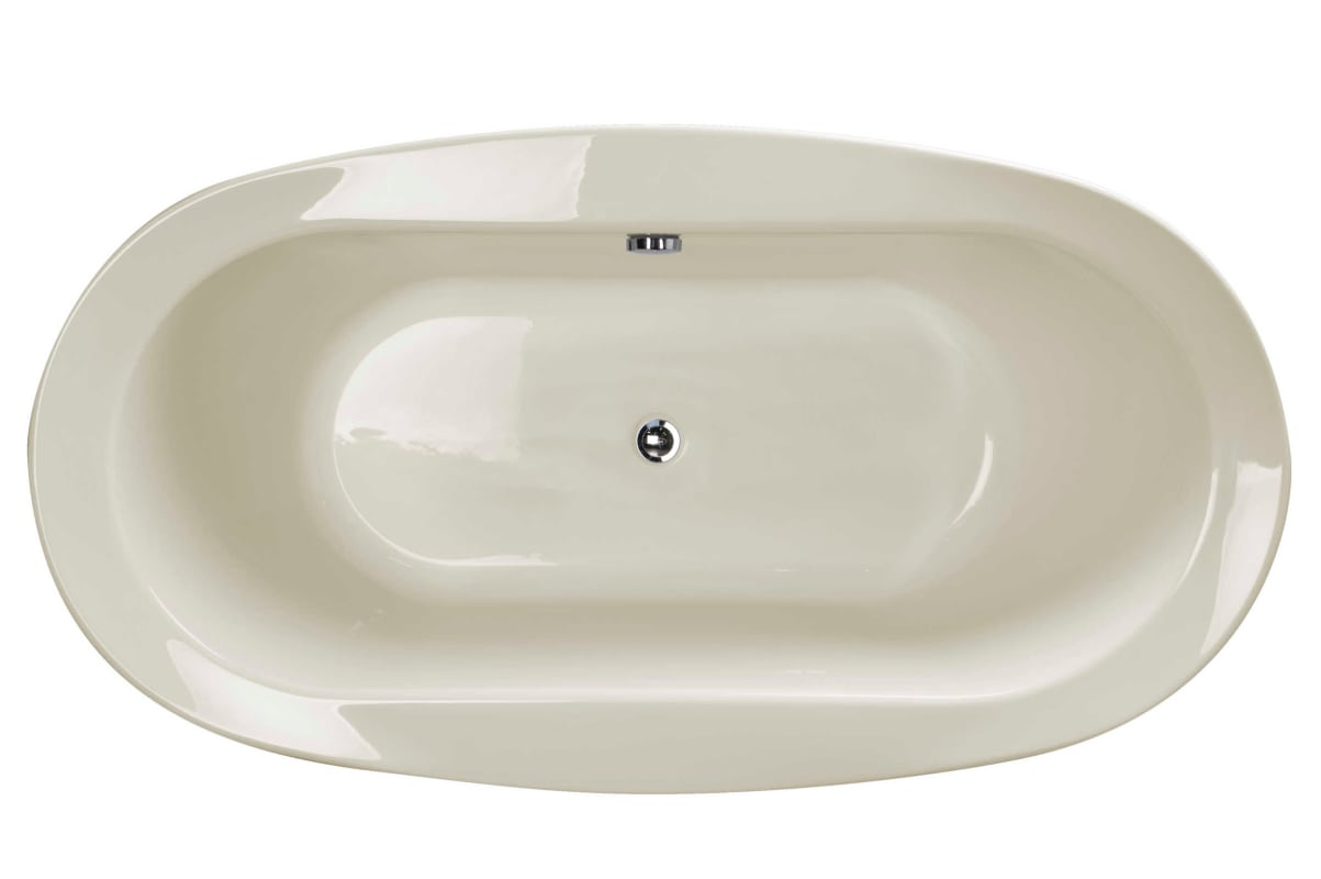... Jacuzzi BRF6636BCXXXX Top View Down Bravo Oyster Tub ...