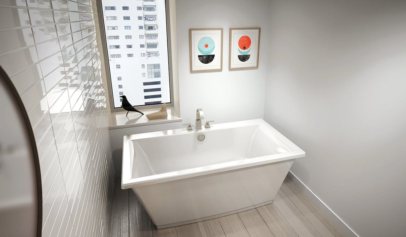 Jacuzzi Tubs For Bathroom: FIF6232BCXXXXK In Black / White By Jacuzzi