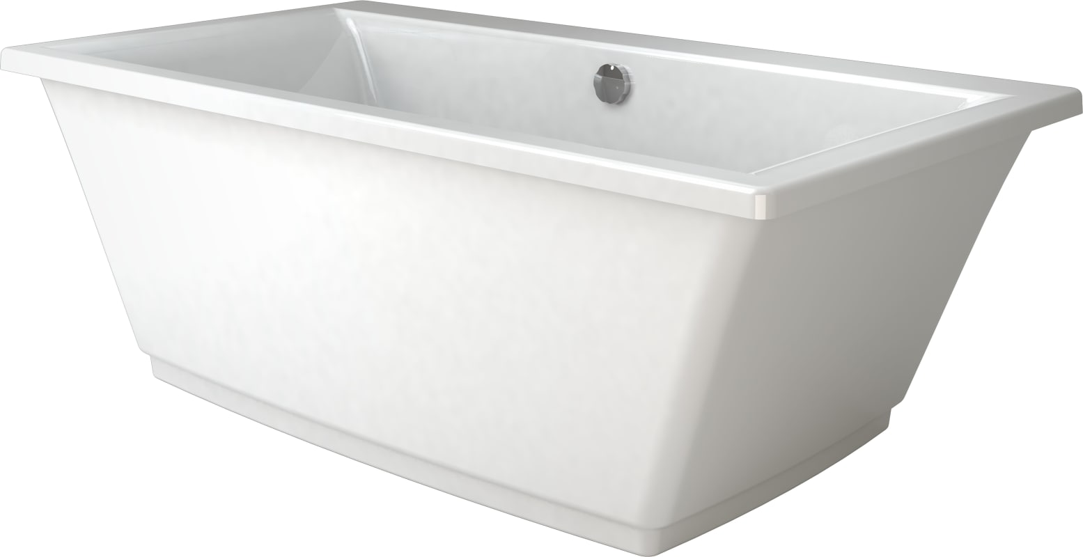 freestanding tub with jets. Contact  Faucet com FIF6636BCXXXXW in White by Jacuzzi