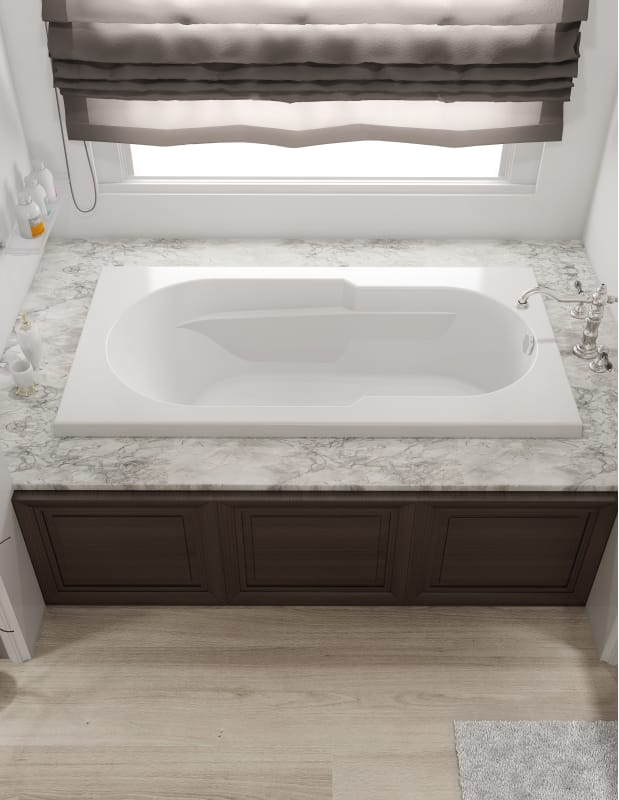 Faucet Com J2t6032wlr1hxw In White By Jacuzzi