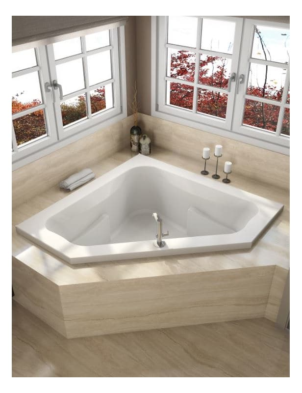 Faucet.com | J5D6060WCR1XXW in White by Jacuzzi