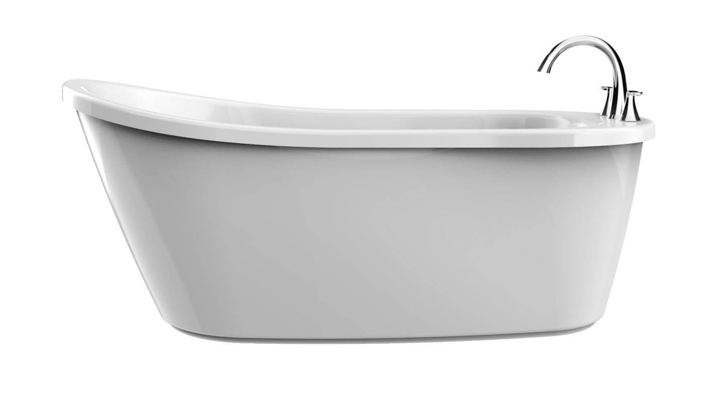 Pib5932buxxxxw In White Chrome Tub Filler By Jacuzzi