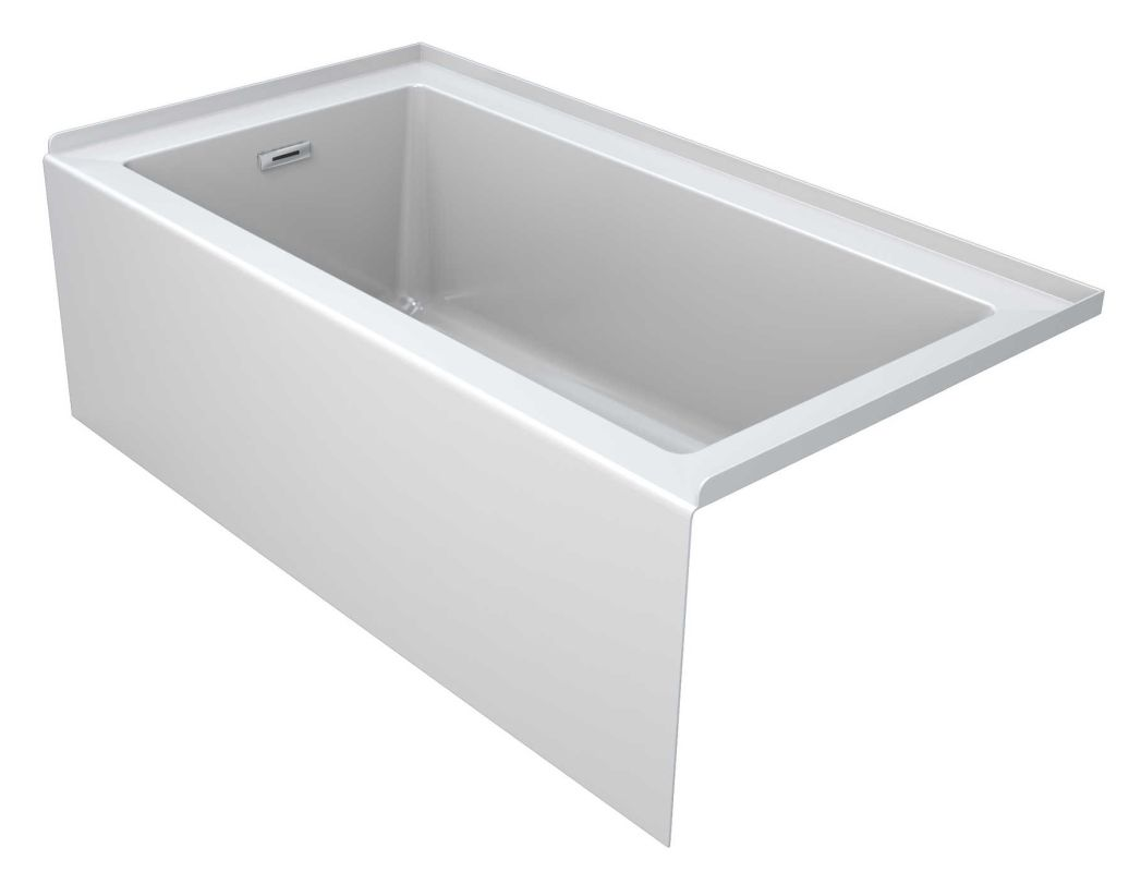 acrylic soaking tub 60 x 30. alternate view · acrylic soaking tub 60 x 30