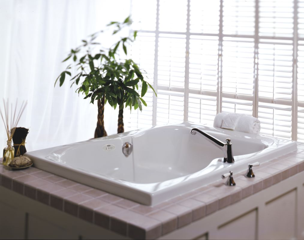 Faucet.com | EPS6060WCR1HXA in Almond by Jacuzzi