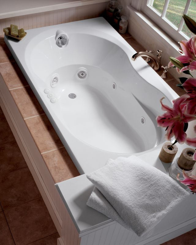 Faucet.com | ESP6036WLG1XXA in Almond by Jacuzzi