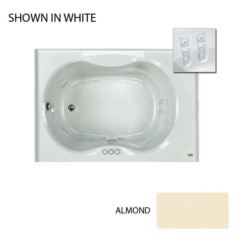 Faucet.com   ESP6042WLR1BMA in Almond by Jacuzzi