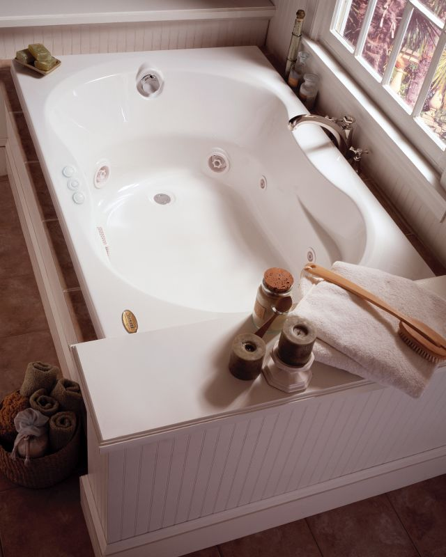 Faucet.com | ESP7242WLG1XXA in Almond by Jacuzzi