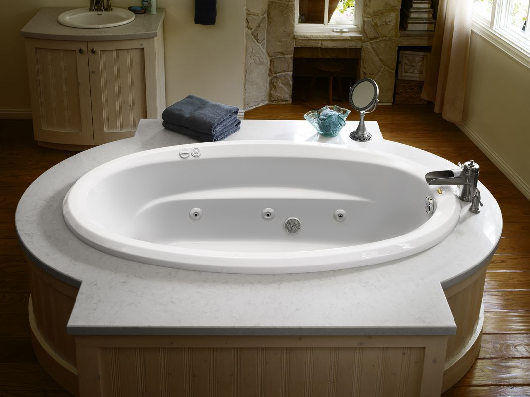 Faucet.com | J3D7242WLR1XXW in White by Jacuzzi