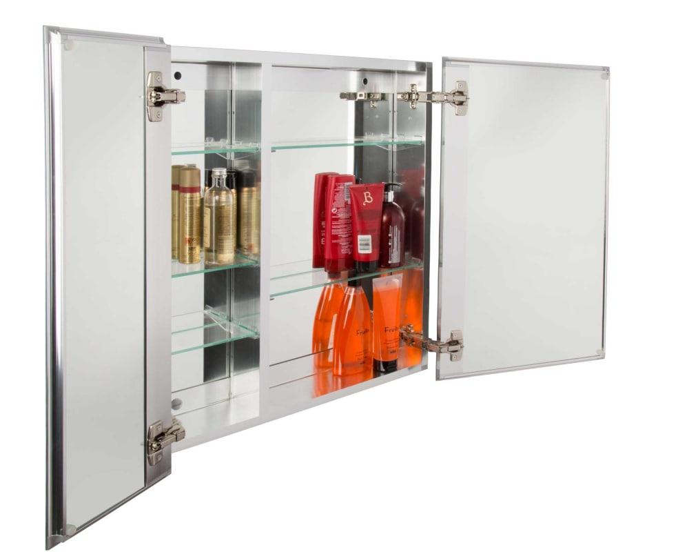 100 recessed mirrored medicine cabinet jacuzzi bathroom cab