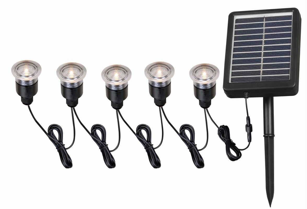 Kenroy Home 60503 Black Seriously Solar 5 Light Solar