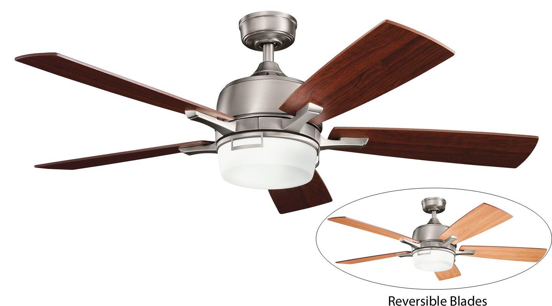 Auto Ceiling Fan : Kichler ap antique pewter quot indoor ceiling fan
