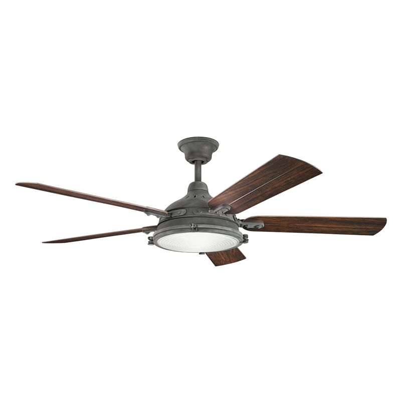 ceiling fan with blades light kit and wall control lightingdirect. Black Bedroom Furniture Sets. Home Design Ideas