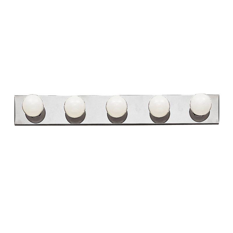"Bathroom Vanity Light Fixture Installation: Kichler 625NI Brushed Nickel Bath & Vanity 30"" Wide 5-Bulb"