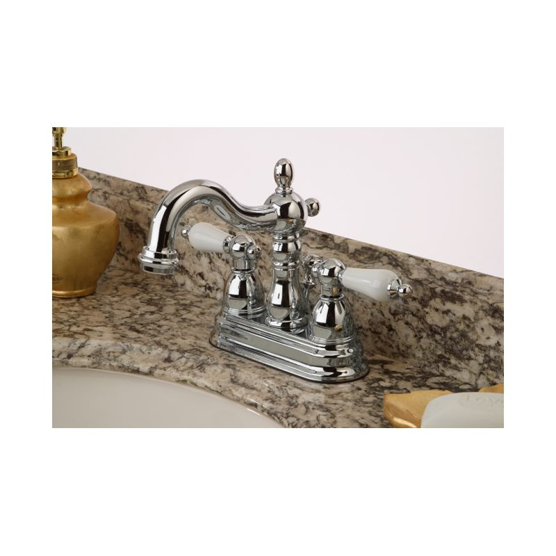 Bathroom Faucets Kingston faucet | kb1603pl in antique brasskingston brass