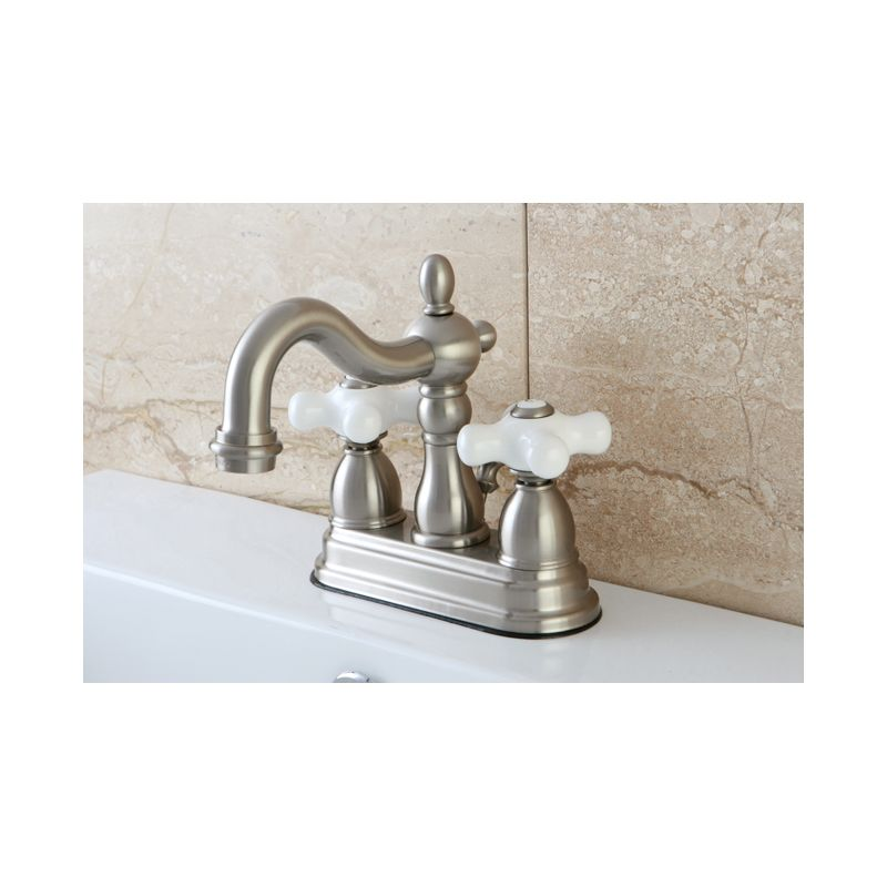 Faucet Com Kb1603px In Antique Brass By Kingston Brass