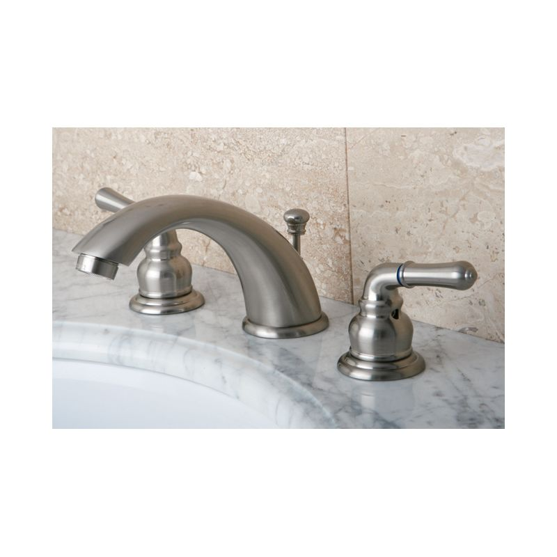 Bathroom Faucets Brass And Chrome faucet | kb964 in polished chrome / polished brasskingston