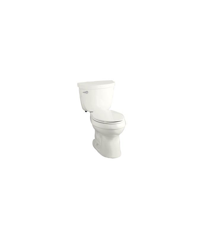 Kohler K 3609 0 White Cimarron 1 28 Gpf Two Piece